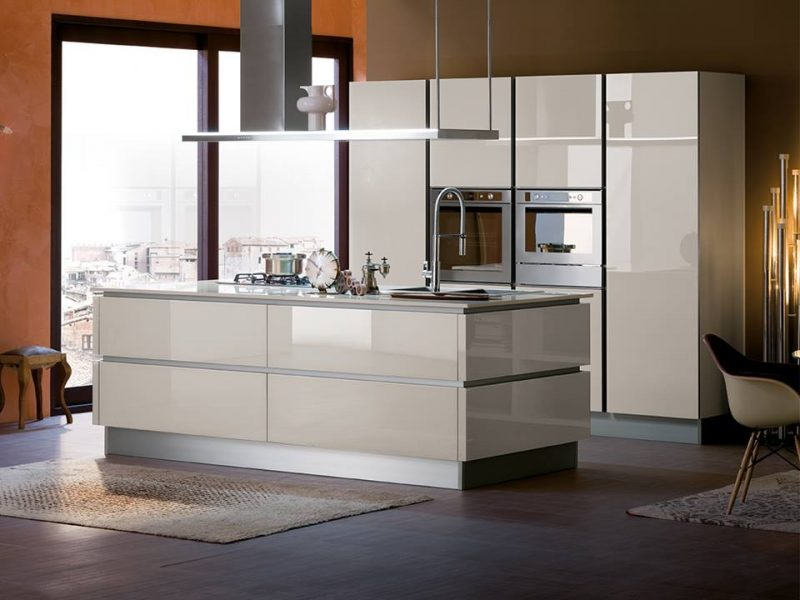 Veneta Cucine, the modern style of a comfortable kitchen - DELTA GROUP